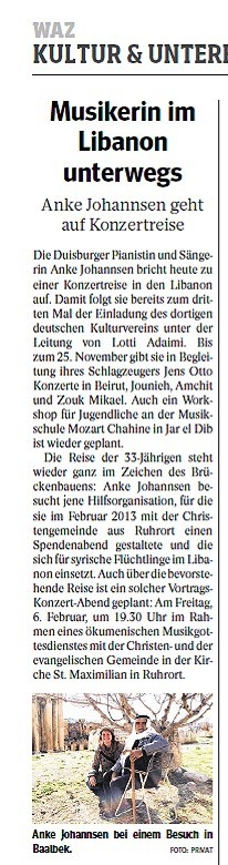 """""""Brückenbauen"""" verpflichtet."""