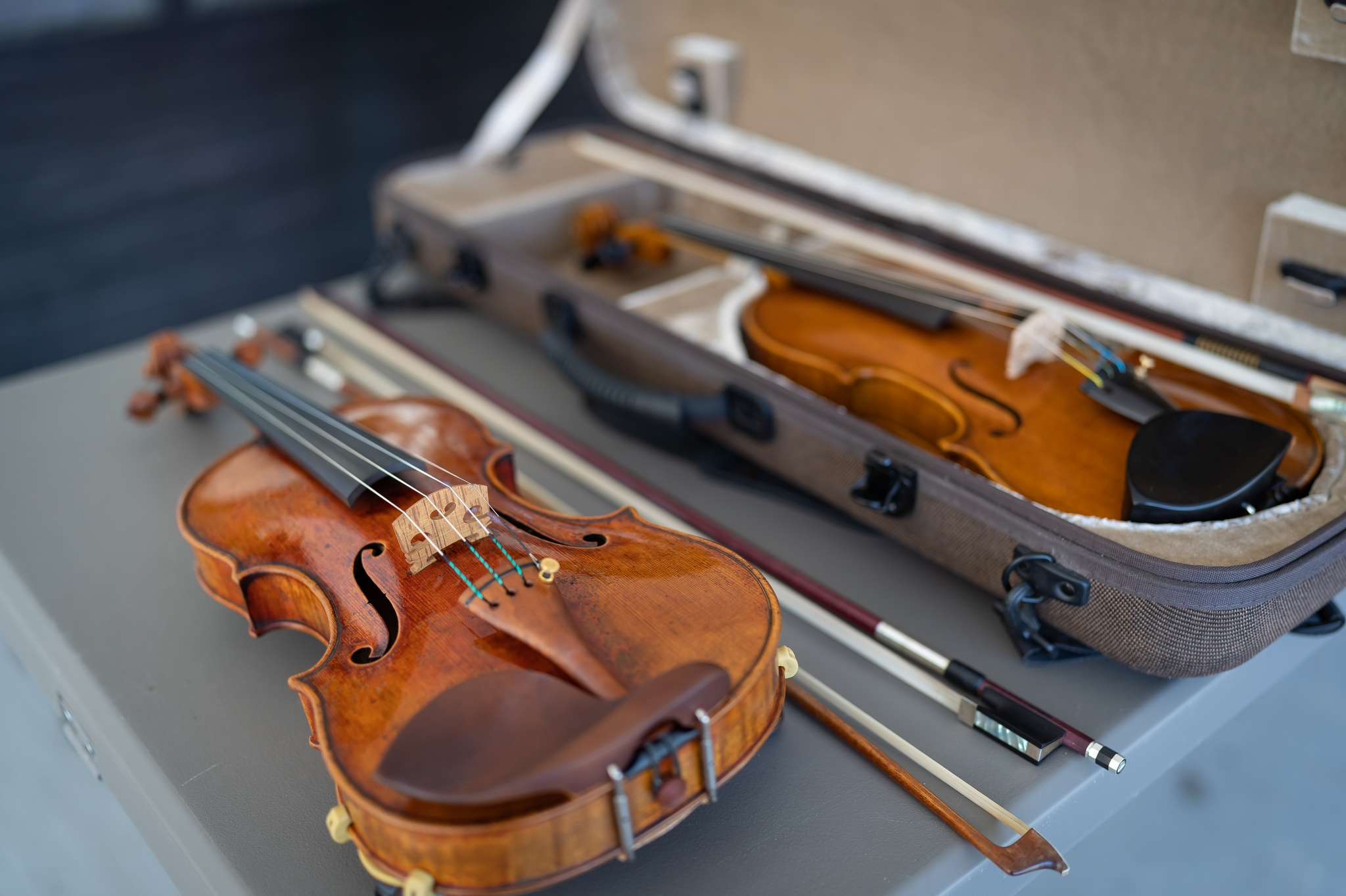 String Instrument Showcase on Sunday at the Owen Sound Farmers Market.