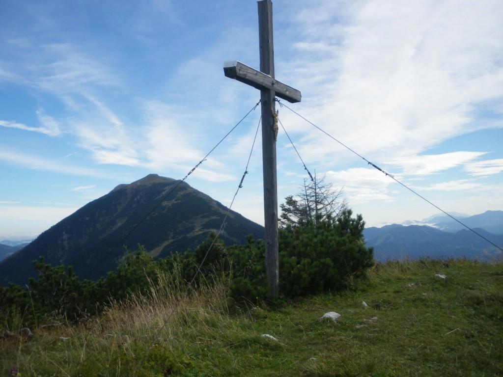 Gipfelkreuz vom Kl. Ötscher