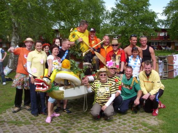 Lustigkeit kennt keine Grenzen - BUGA-Rennen 2009