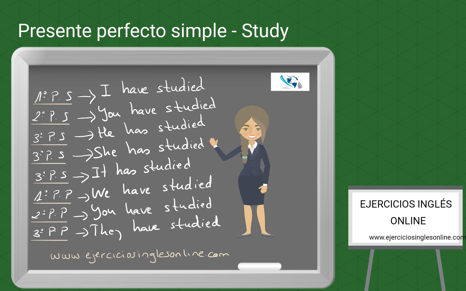 Presente perfecto simple - Ejercicio 10 - Interactivo