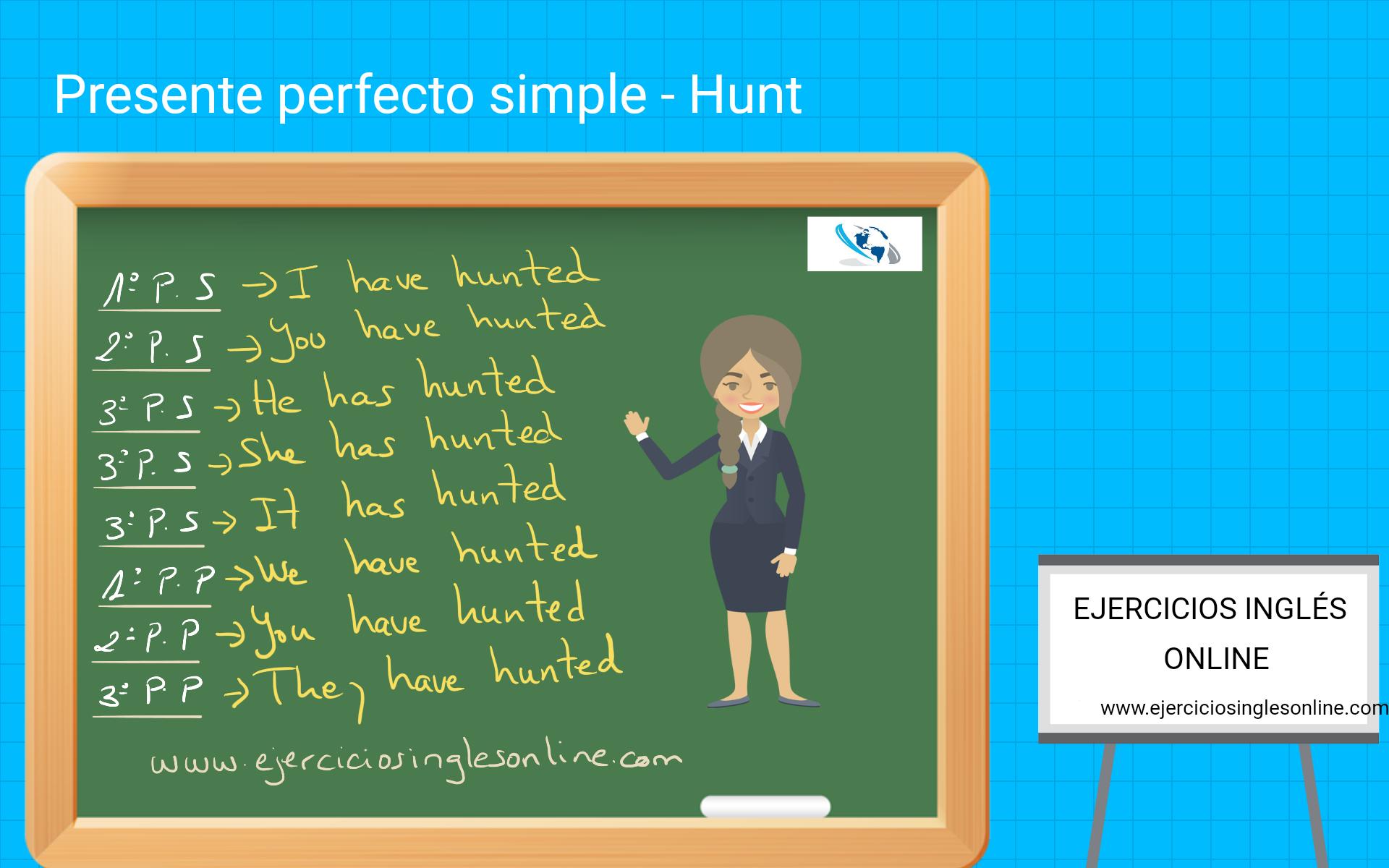 Presente perfecto simple vs continuo - Ejercicio 8 - Interactivo