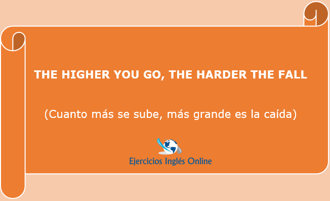 The higher you go, the harder the fall