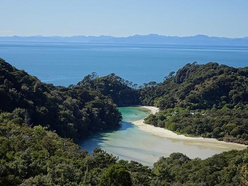 2017.10.3 海と森と湖 in Abel Tasuman National Park