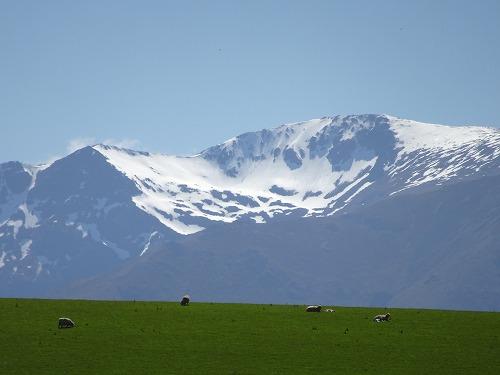 2017.10.27 雪山と羊