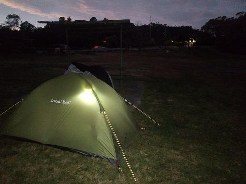 2017.8.15 キャンプの夜