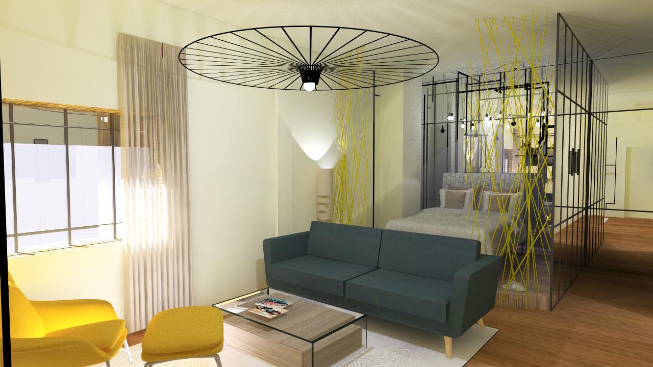 Architecture d 39 int rieur d coration et design lille for Decoration interieur f2