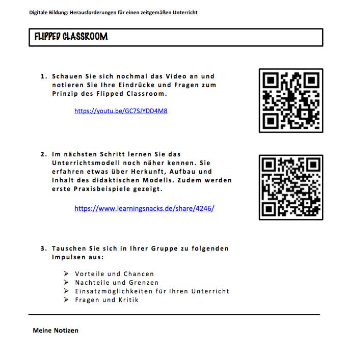 Praxis: Flipped Classroom in der Lehrerausbildung - vedducations ...