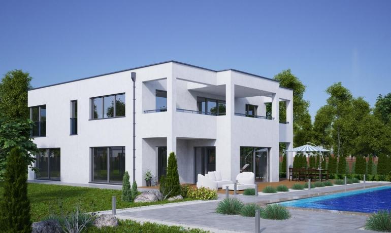 Kubushaus 225 m²