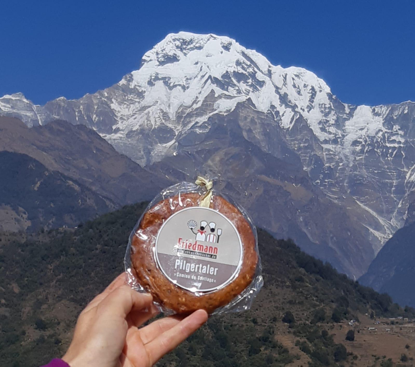 Asien Nepal Himalaya Annapurna South 7.219Meter Dec.2019