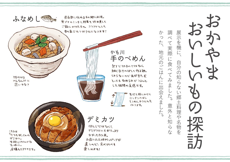 「イラストお国自慢展」パネル3