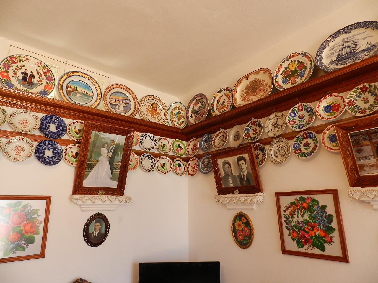 I piatti che venivano utilizzati durante le feste in famiglia
