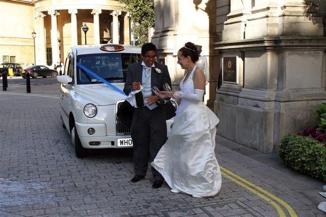 unique wedding cars