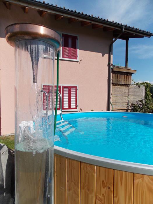 Regeneriertes Poolwasser dank Kupfer Hyperbel