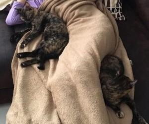 Mia (rechts) und Lina