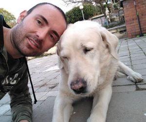 Unser grossherziger Tierschützer vor Ort in Madrid: Javier Ricote Saavedra
