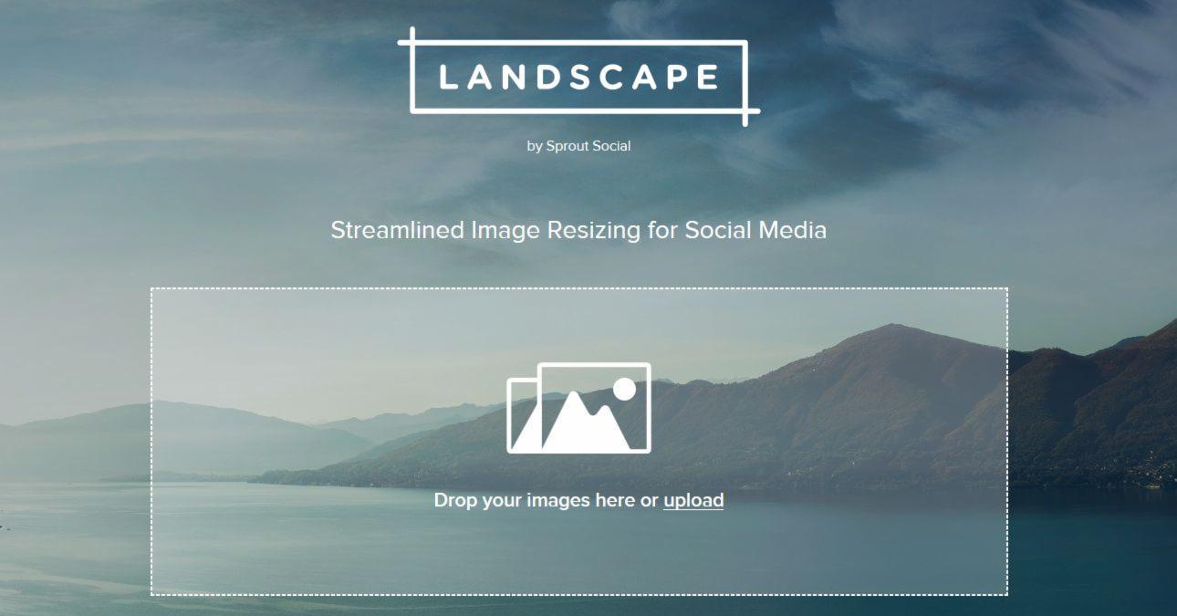 bilder online gratis zuschneiden landscape macht dein bild social media fit webdesign von. Black Bedroom Furniture Sets. Home Design Ideas