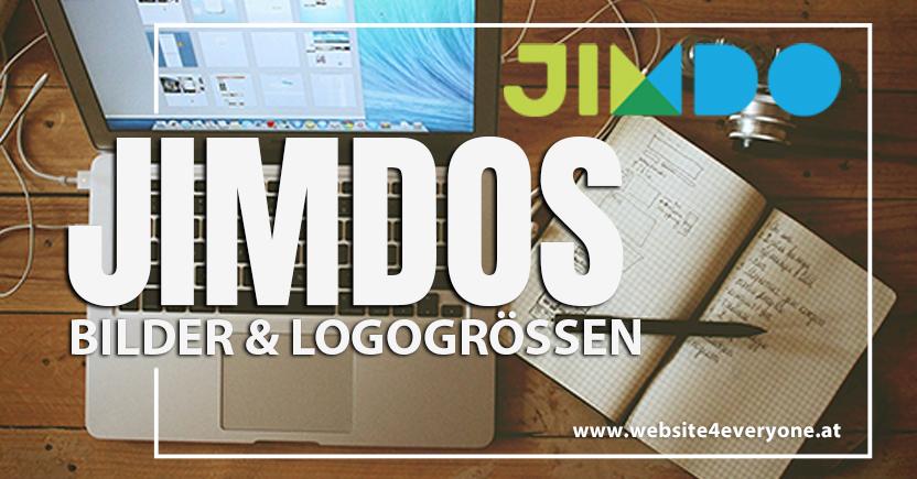 Bildergrösse Logogrösse Jimdo