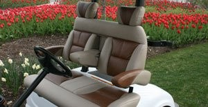 Premium Custom Bucket Seats, Fold Down Arm Rests