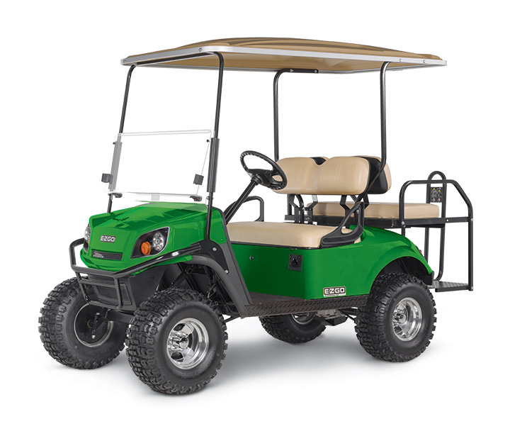 E-Z-GO EXPRESS S4, 4 Passenger Golf Car, Rear Seat