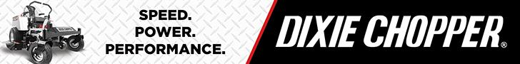 DIXIE CHOPPER  THE WORLD'S FASTEST LAWN MOWER