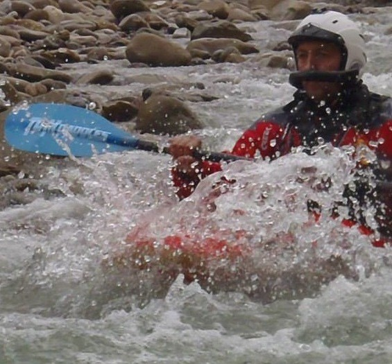 in acqua mossa