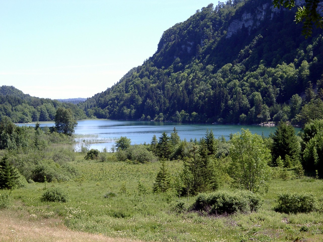 Petit Maclu lake