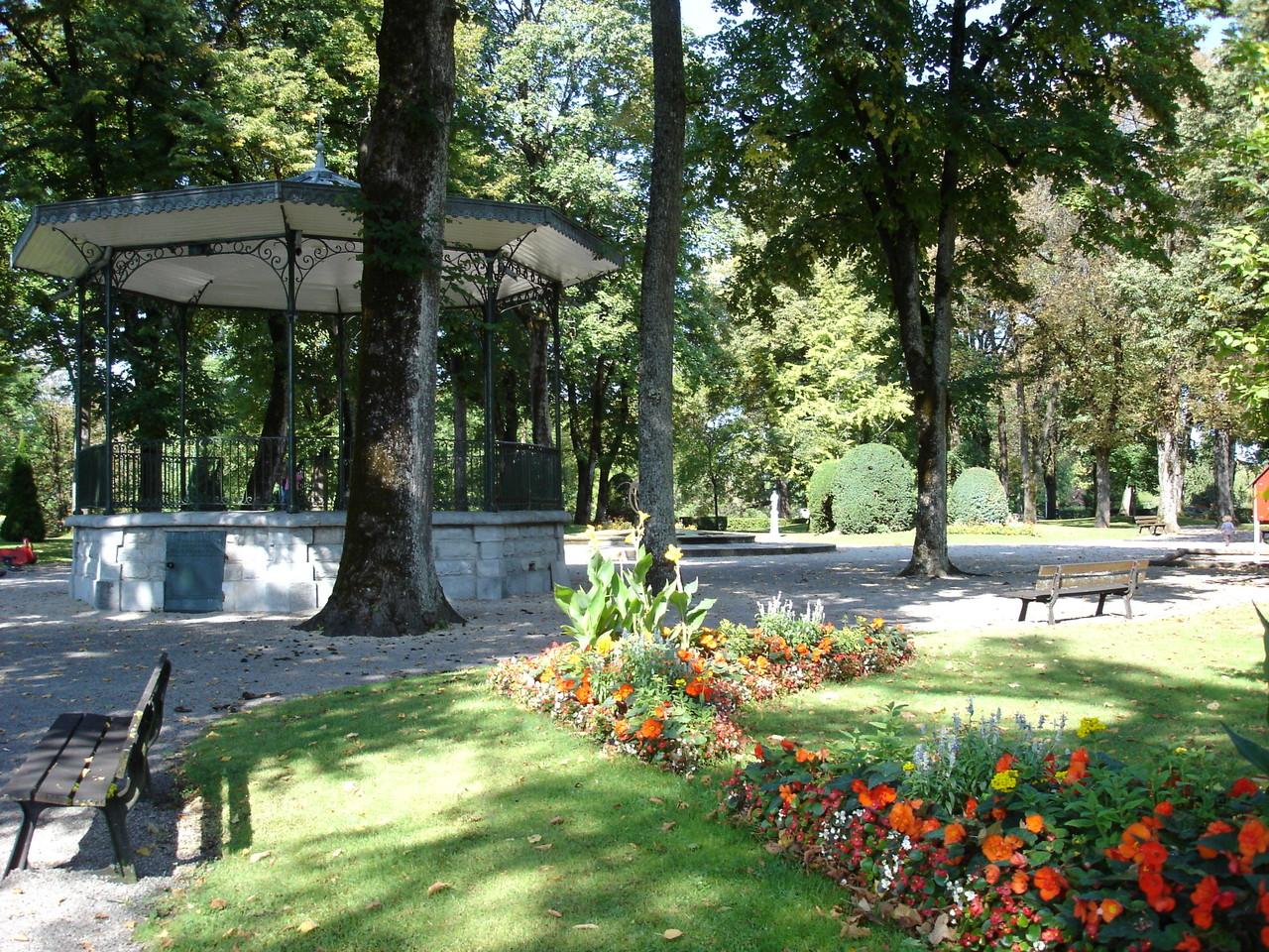 Champagnole - Bellefrise park