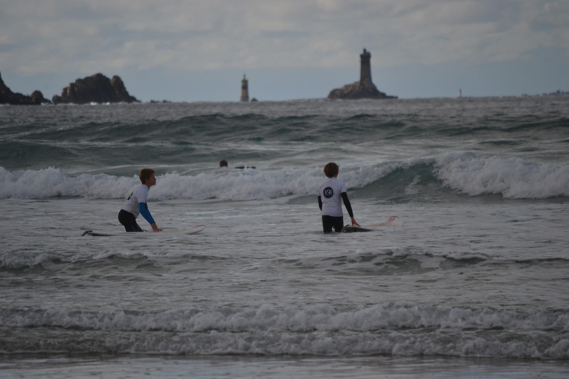 Ecole de Surf de Bretagne. Photo Luce Jubard