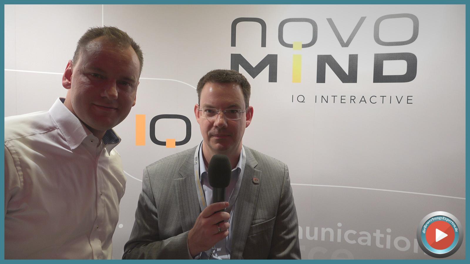 Bei der novomind AG ist die Bewerbung zur Chefsache erklärt. Vorstand Stefan Grieben teilt seine Erfahrungen mit uns!