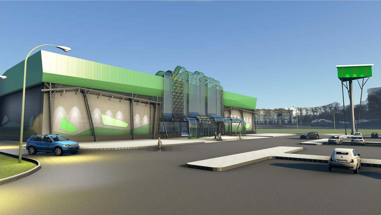 Торговый центр. Проект