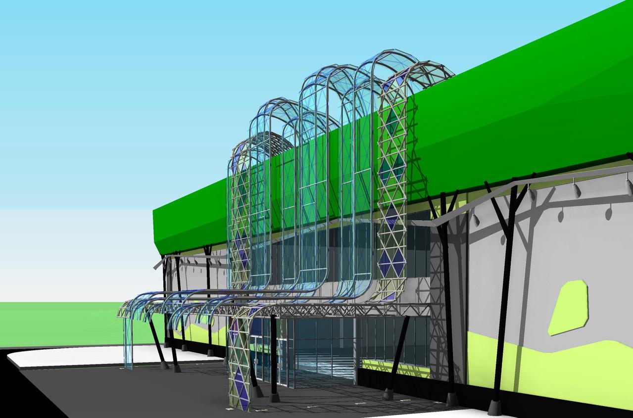 Проект концепции гипермаркетов