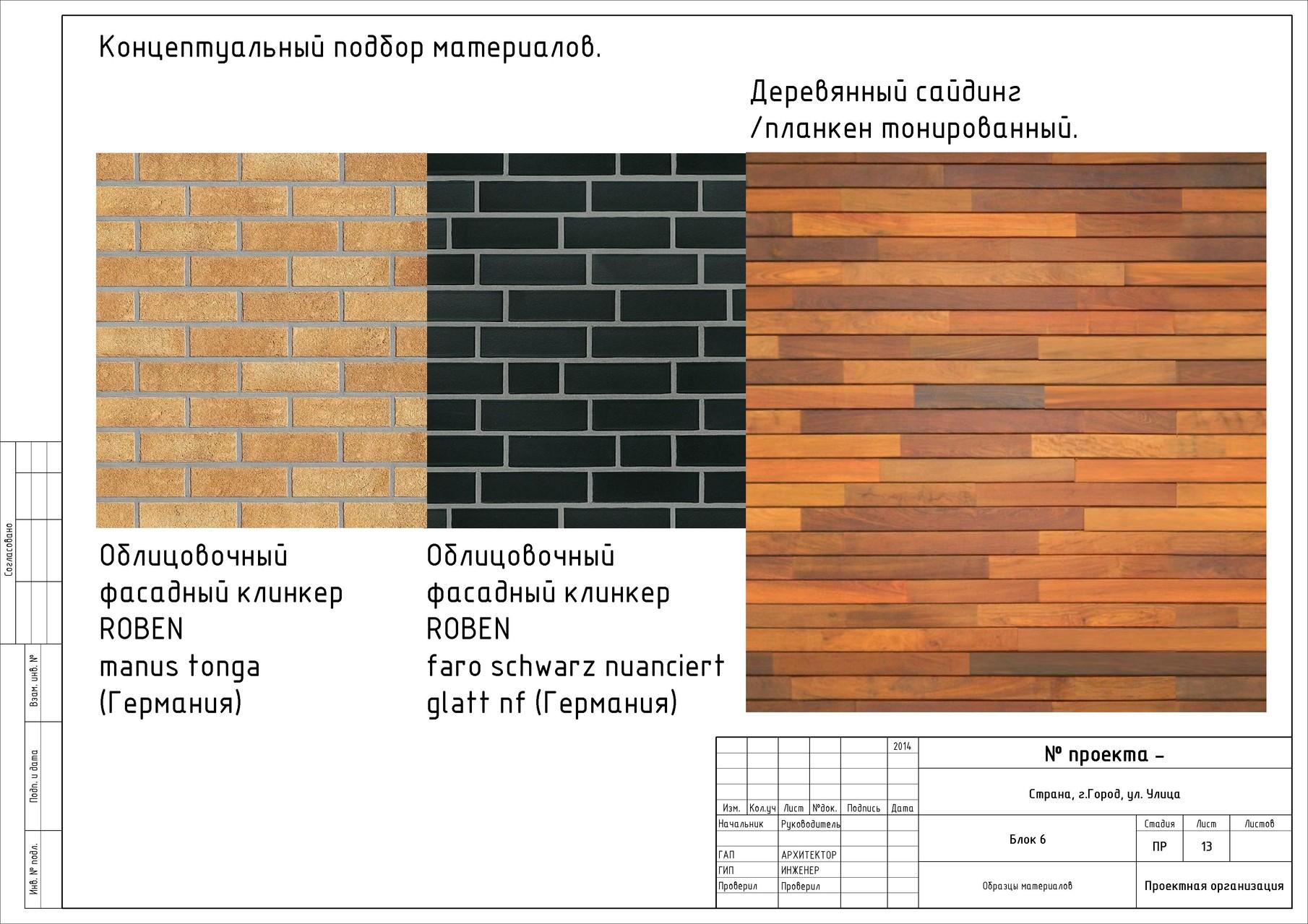 Подбор материалов для оформления фасадов таунхауса