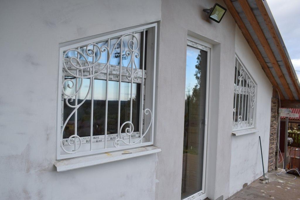 Решетки на окна. дизайн