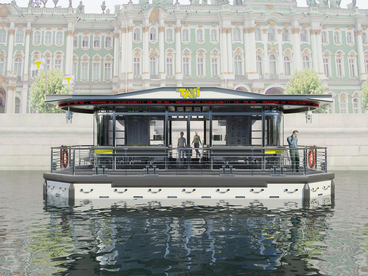Проект причала для Петербургского водного такси