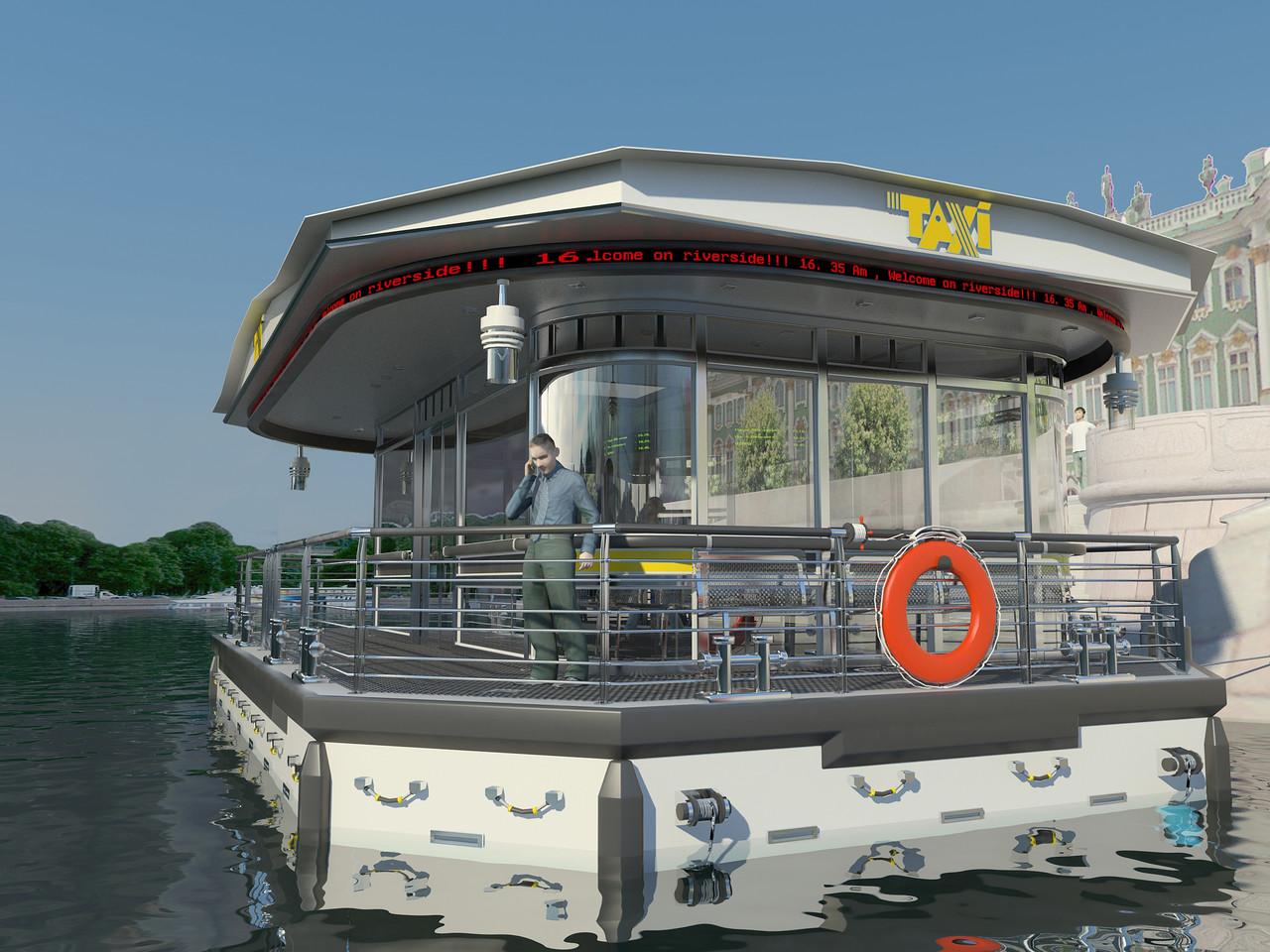 Разработка инфраструктуры для водного такси в СПБ