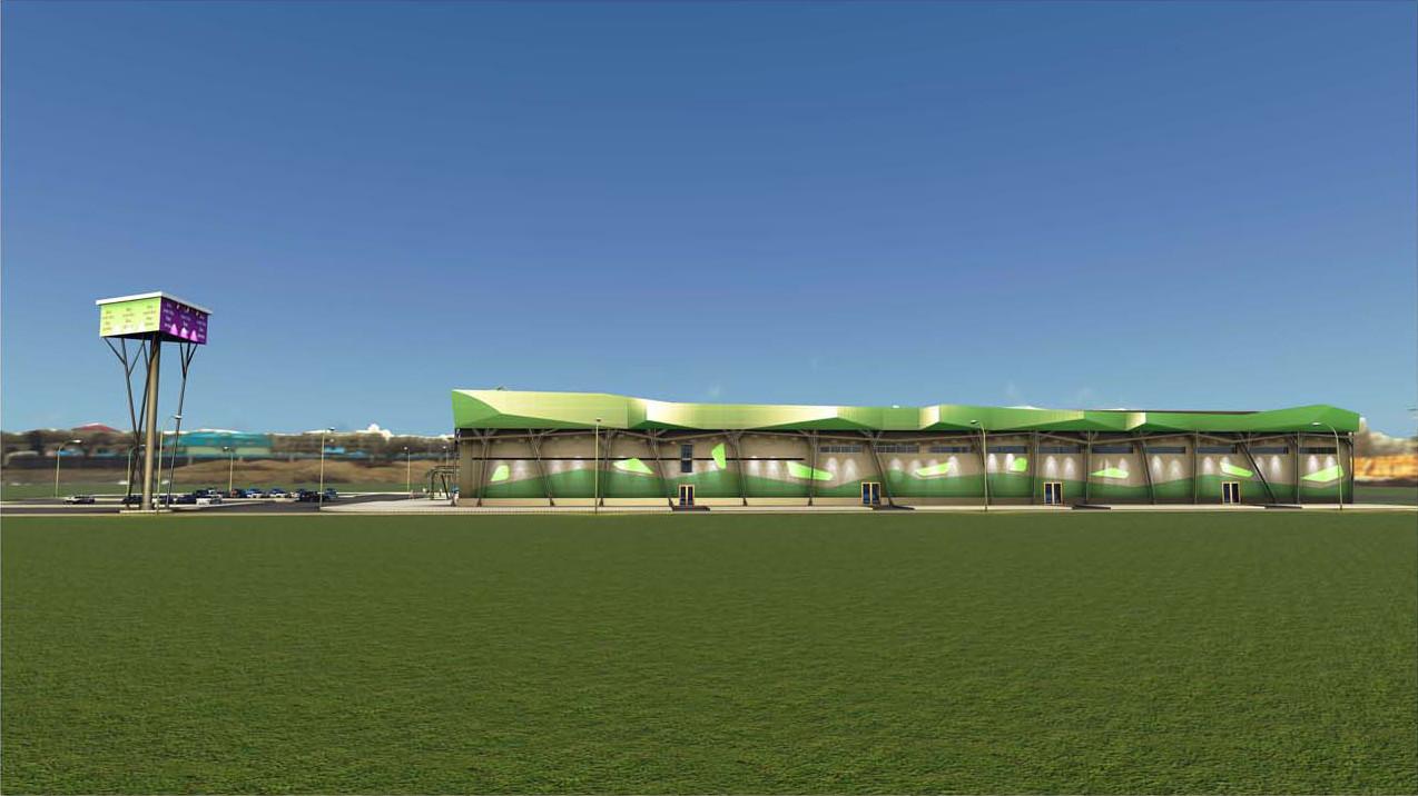 Дизайнерский проект торгового центра