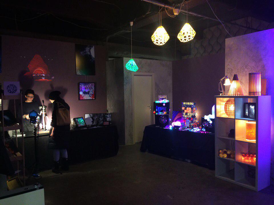 Выставка на Кожевенной линии в пространстве InterLoft
