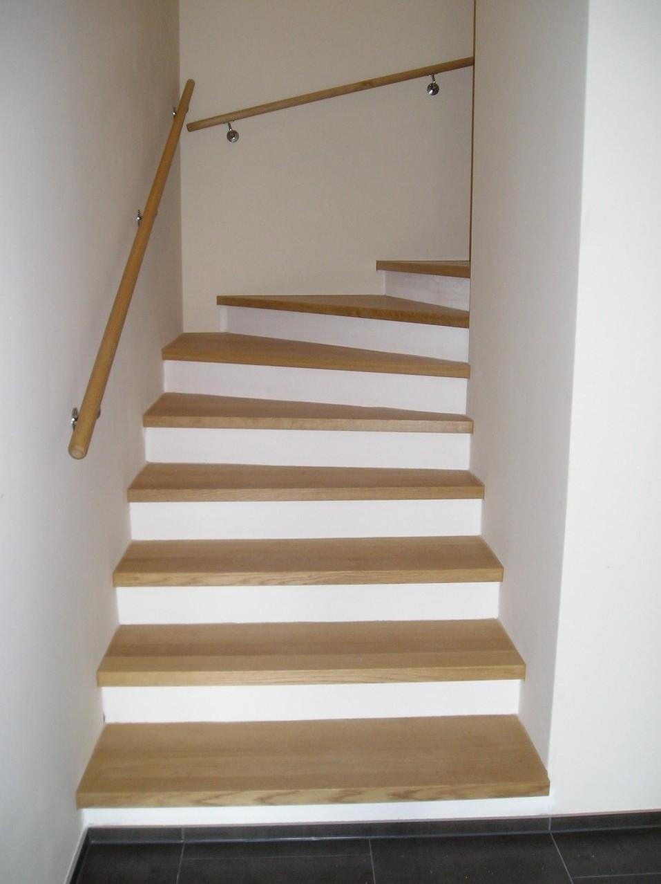Treppe in Bauernhaus in Oberkirch