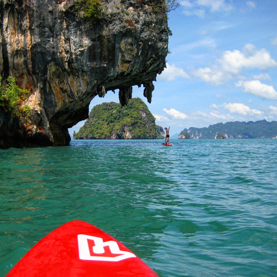 SUP im Paradies: Thailand