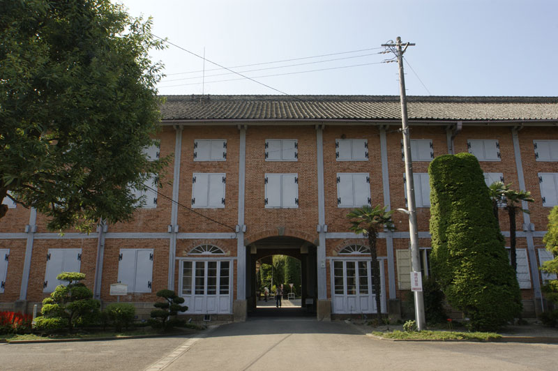 世界遺産の富岡製糸場