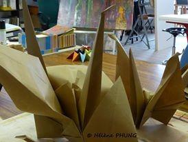 Résidence d'artiste HPhung au Mans Novembre 2014