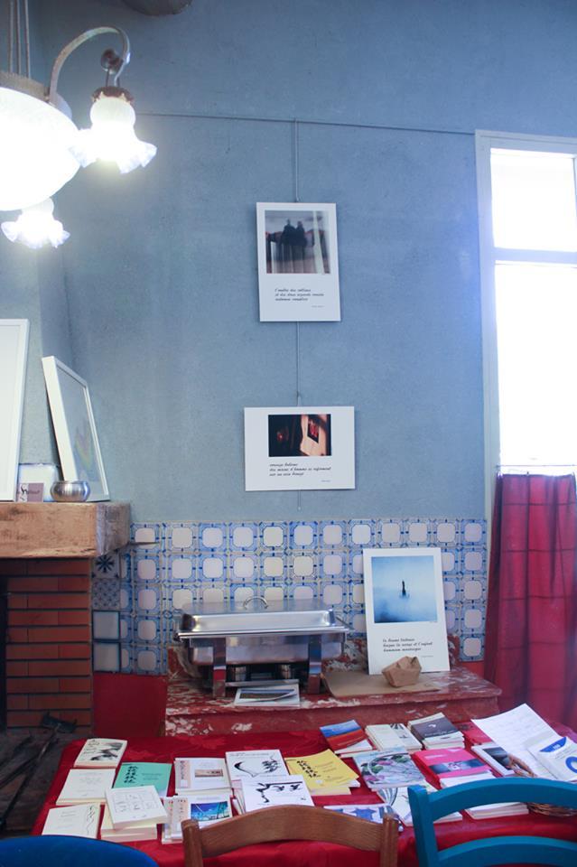 Expo à St Chinian, photo de Claudine Baissière