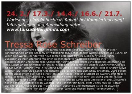 Workshop mit Tressa Schreiber 2018