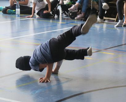Das Tanzatelier beim Breakdance Battle des MTV Stuttgart