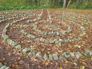 Heiligkreuztal - Labyrinth beim Kloster