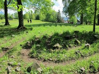 Sonthofen - Kalvarienberg mit Labyrinth