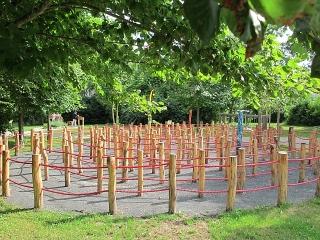 Steppach - Malteser Therapie- & Sinnespark mit Labyrinth