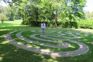 Bad Waldsee - Stadtsee Aktiv-Weg mit Labyrinth