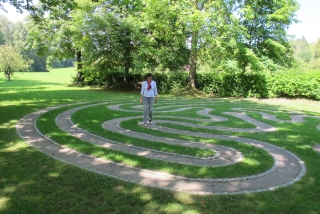 Bad Waldsee (Stadtsee Aktiv-Weg - Labyrinth)